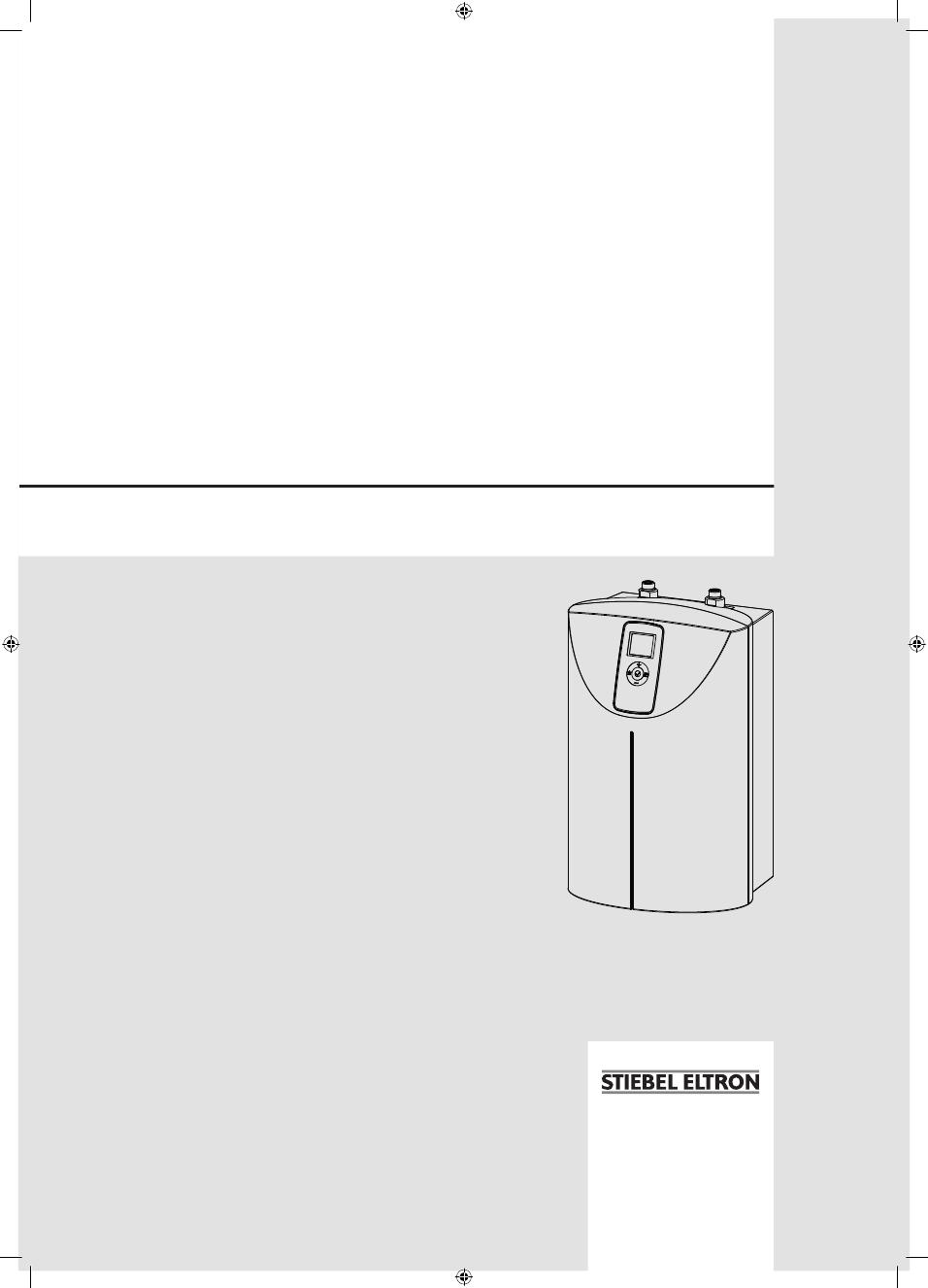 Gebrauchsinformation / Datenblatt zu Stiebel Eltron SNE 20 t ECO