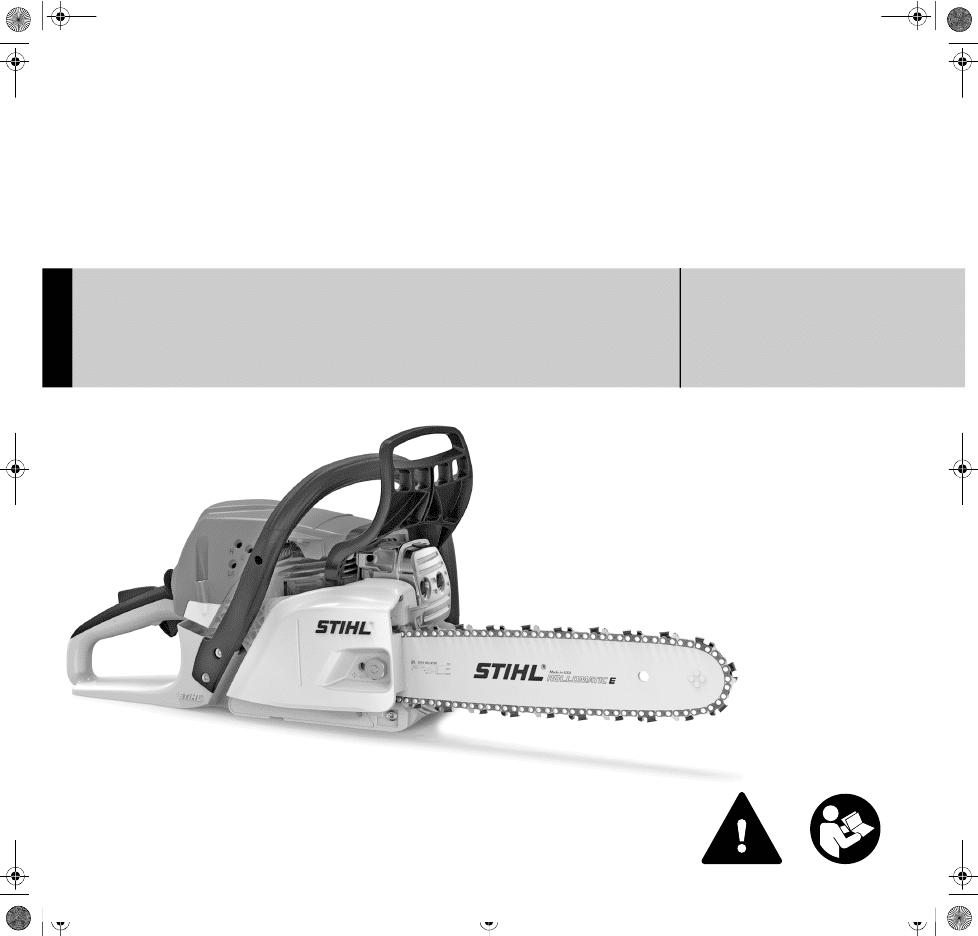 Gemeinsame Gebrauchsinformation / Datenblatt zu Stihl MS231 35cm Benzin &FF_05