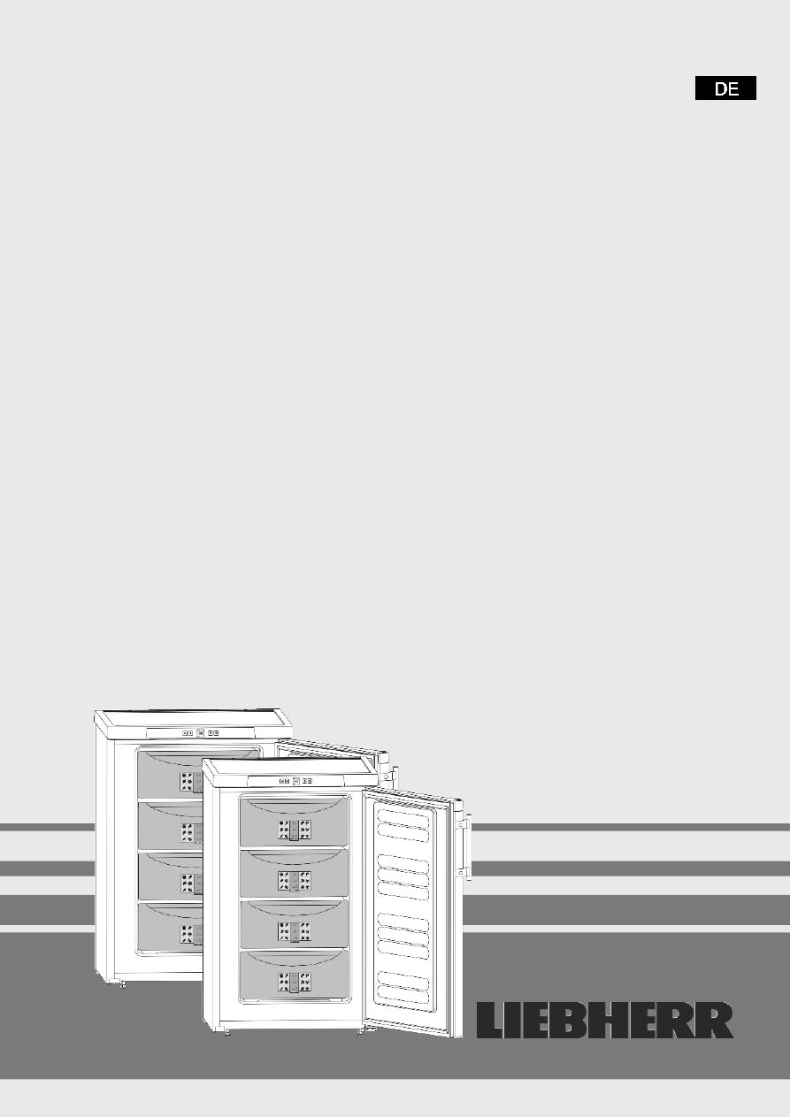 Gebrauchsinformation Datenblatt Zu Liebherr GP 1376 Premium Tisch