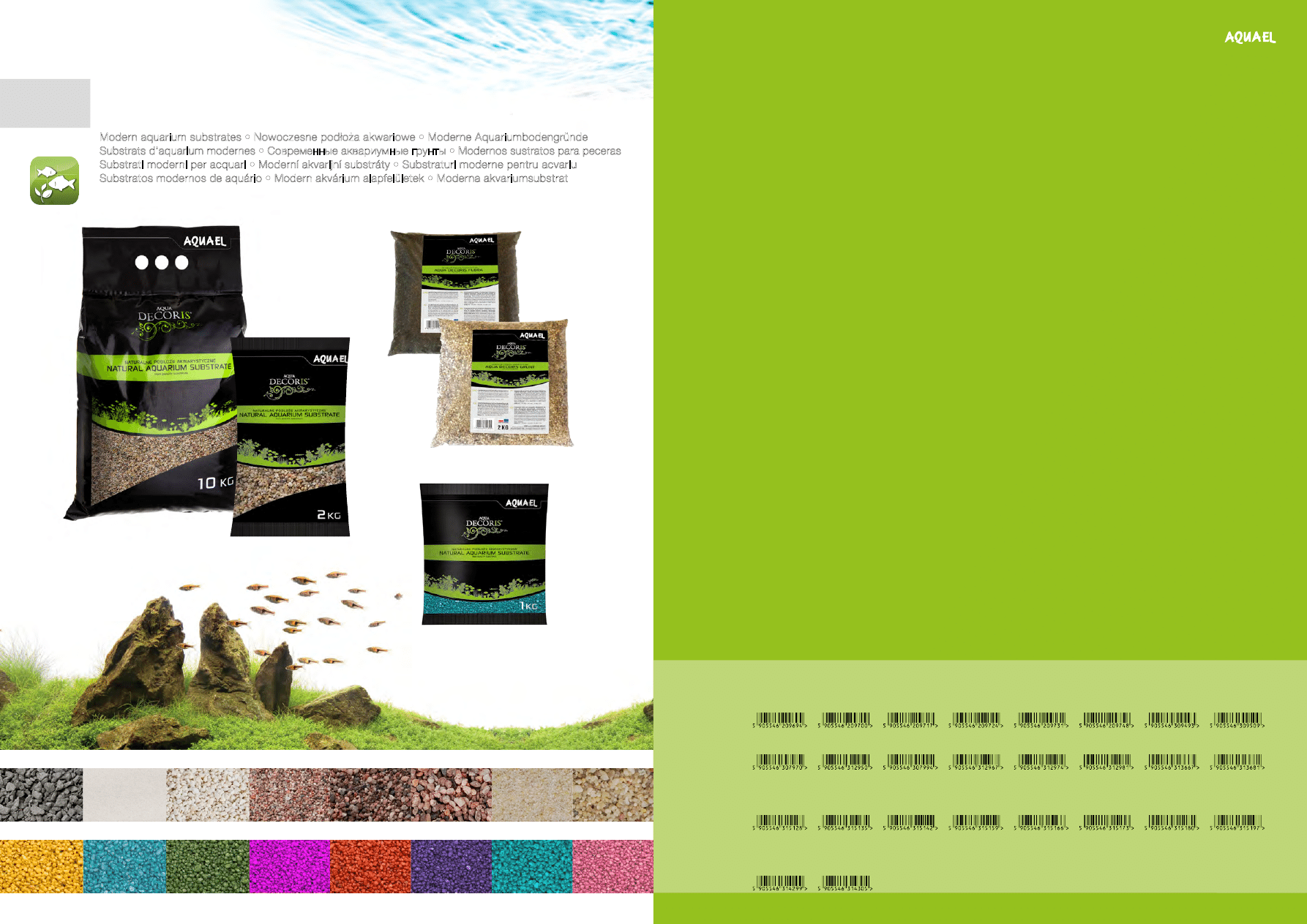 Pet Supplies Adaptable Aquael Basalt Gravel 2-4mm 2kg Fish & Aquariums Moderate Price