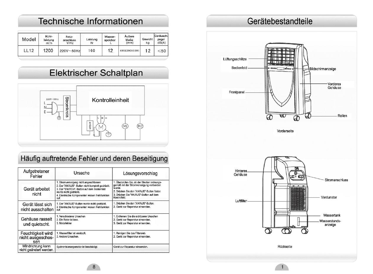 Fantastisch Verdunstungskühler Schaltplan Ideen - Elektrische ...