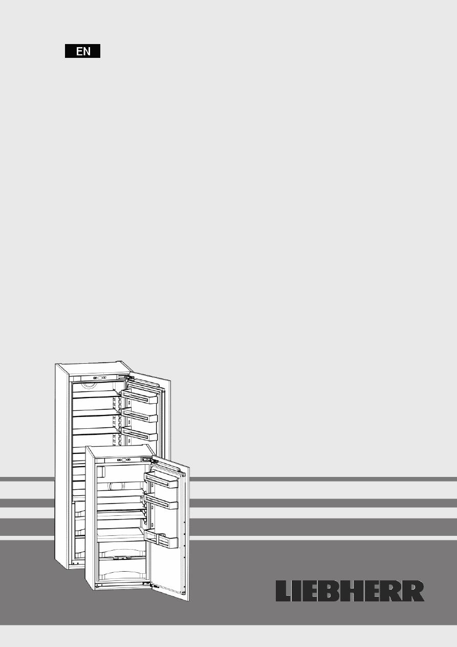 Gebrauchsinformation / Datenblatt zu Liebherr IKB 2710