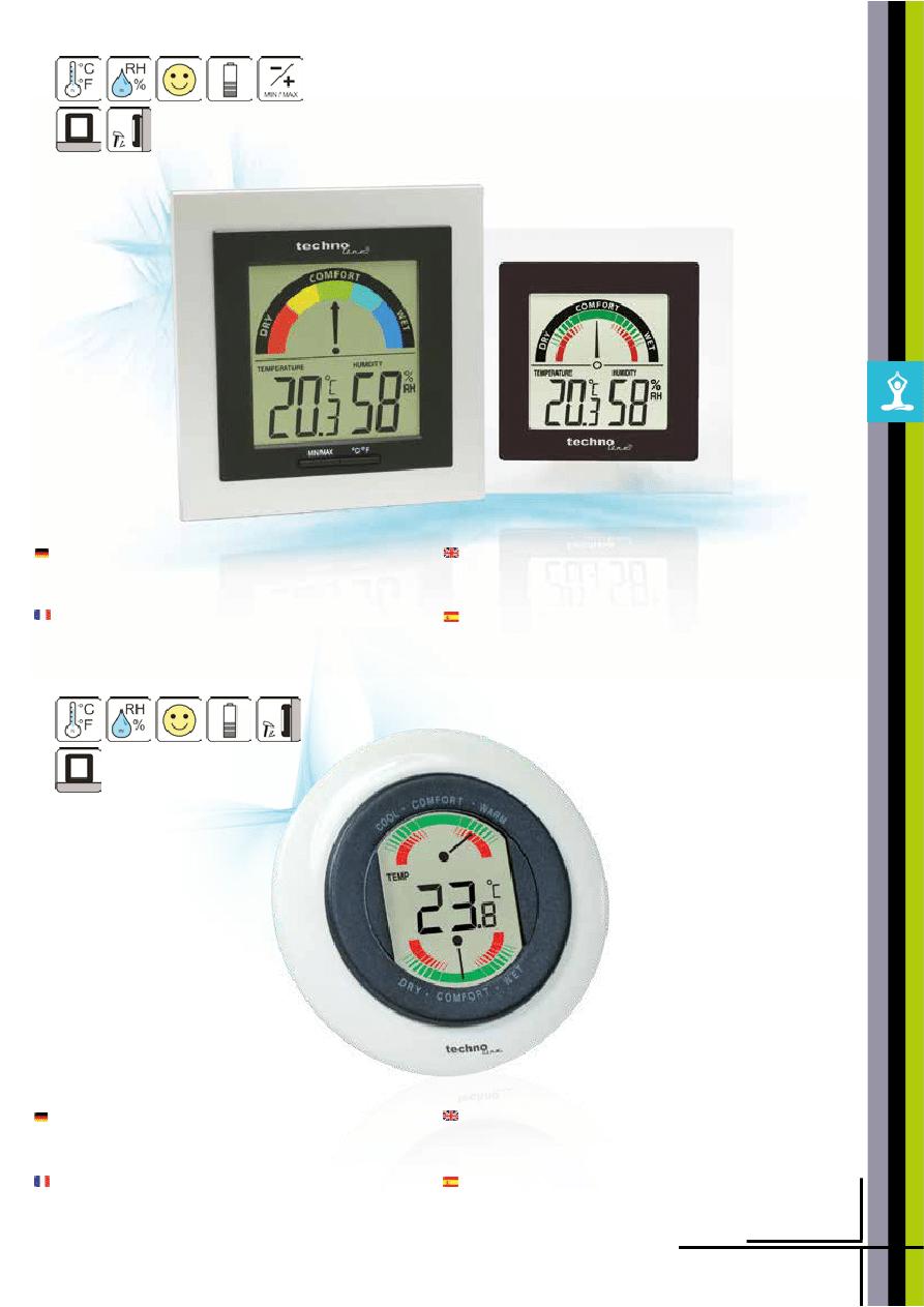 Technotrade WS 9180 Horloge radiopilotée Station météo intérieur//extérieur Température weckalarme