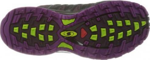 Salomon XA Pro 3D Ultra 2 GTX dark plum xvery purplepop green (Damen)