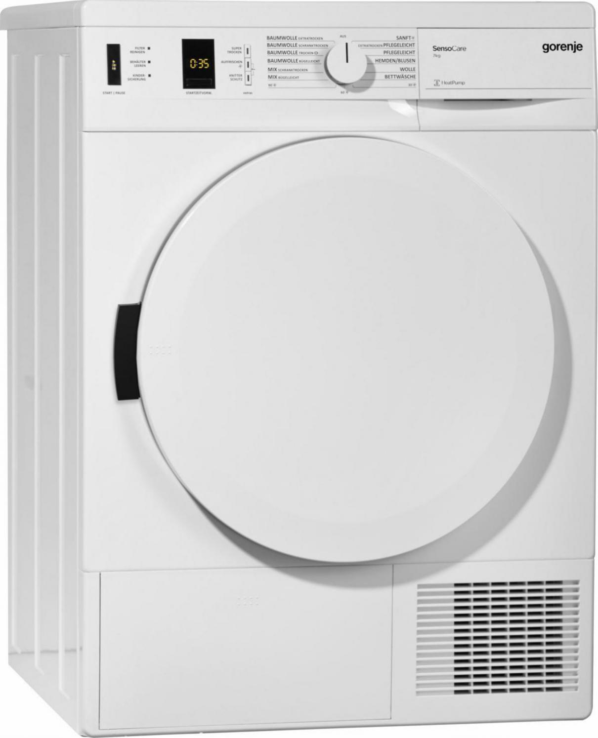 Gorenje D7 Eco Warmepumpentrockner Preisvergleich Test Vergleich