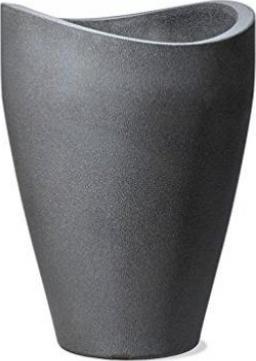 """Ø 40 x 54 cm sc Scheurich 54266 Outdoor-Hochgefäß /""""Wave Globe High/"""" Kunststoff"""