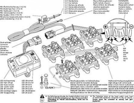 K/&k m4700b Marderschutz mit Hochspannungsb/ürsten K2
