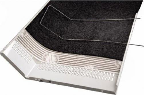 Xavax Universal Dunstabzug-Flachfilter mit Sättigungsanzeige 2er Set,