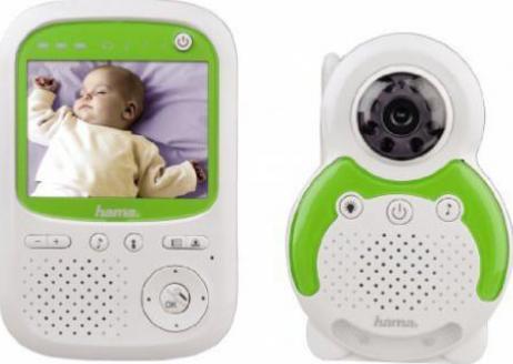 Baby Care Digital Video Phone mit Kamera Farbdisplay Temperaturanzeige