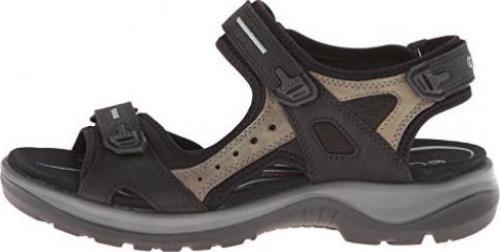 Ecco Offroad Yucatan Ladies Damen Sandale Schuhe black 069563-50034 Trekking