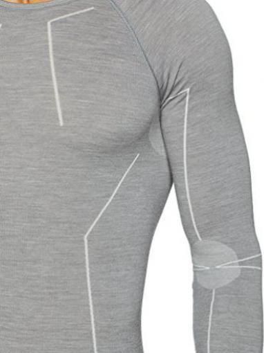 FALKE Herren Unterw/äsche Wool Tech Longsleeve Shirt Comfort Sportunterw/äsche