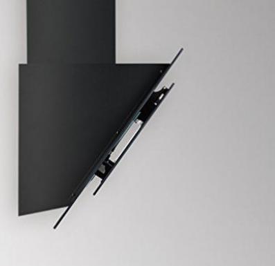 Silverline indira schwarz wand dunstabzugshaube