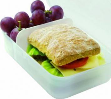 Rotho Vesperdose Brotdose Lunch-Box Brotzeit Bento Brotbox Butterbrotdose 1,7 l