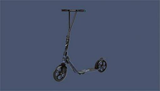 vorne: 230 mm // hinten: 215 mm 1 faltbar HUDORA City Scooter Big Wheel V 230