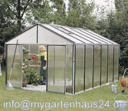 Gartenpro Profi Typ 24 Dt 16mm Gewachshaus Preisvergleich Test