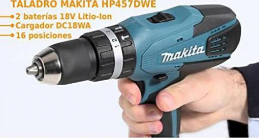 makita hp457dwe test