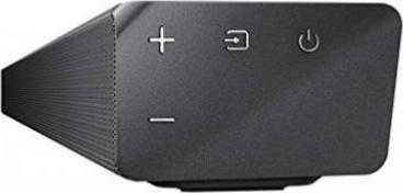 340W, Bluetooth, Virtueller Surround Sound Samsung HW-N550//ZG Soundbar mit externem Subwoofer Schwarz