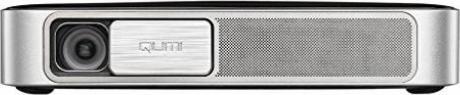 wei/ß tragbarer Full HD-Projektor integrierter Akku 600 Lumen vivitek Qumi Q38