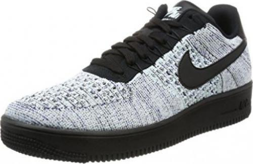 Nike Air Force 1 Flyknit Low glacier bluewhitedeep royal blueblack