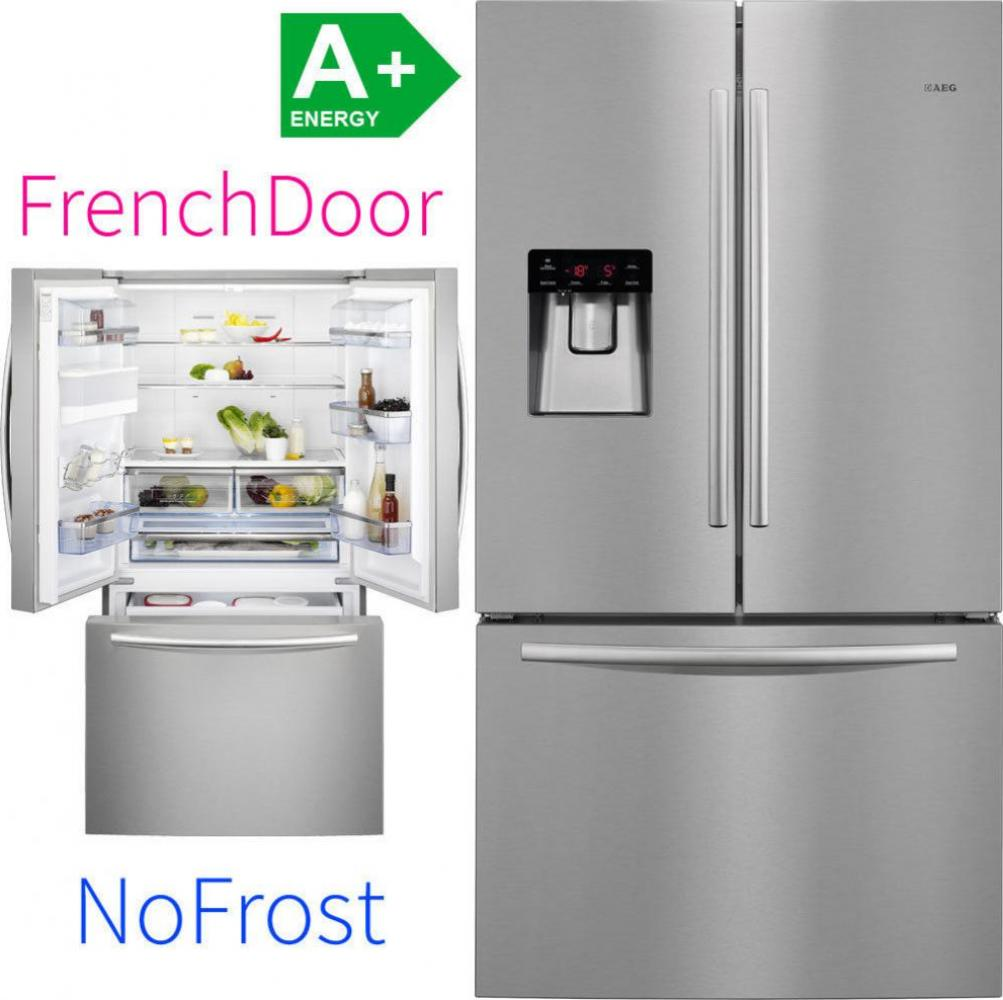 AEG Electrolux S76010CMX2 French Door Side-by-Side