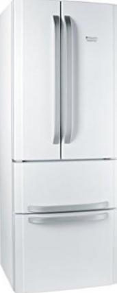 Hotpoint Ariston Quadrio E4D AAA W C French Door Side-by-Side ...