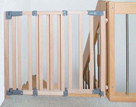 roba Tür Treppen Schraub Schutzgitter Safety Up barrierefrei Holz