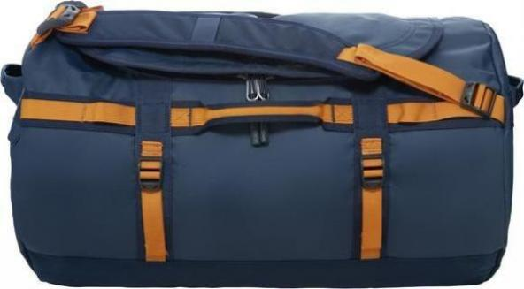 sale retailer 28303 155e8 The North Face Base Camp Duffel S urban navy/citrine yellow