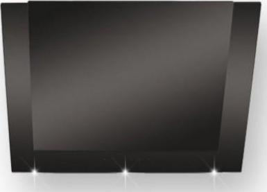 silverline pandora deluxe 90 schwarz wand dunstabzugshaube 8699316314141 preisvergleich. Black Bedroom Furniture Sets. Home Design Ideas