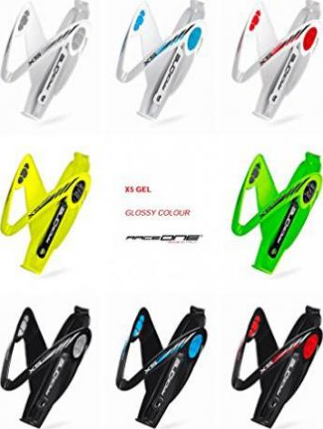 Raceone X5 Flaschenhalter Gel Neongelb Trinkflaschenhalter bruchsicher Radsport
