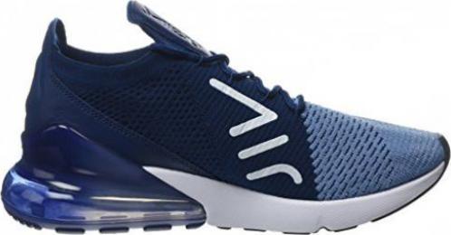 Nike Air Max 270 Flyknit work bluebrave bluetotal crimsonwhite (Herren) (AO1023 400)