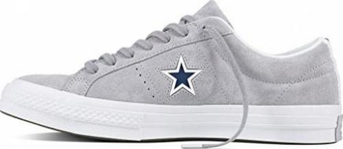 Converse One Star Suede Molded Star wolf greywhitenavy