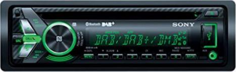 Sony MEX-N5100BT Autoradio CD-Player, NFC, Bluetooth, USB//AUX, Apple iPod//iPhone Control, 4X 55 Watt Externe Mikrofon schwarz inkl