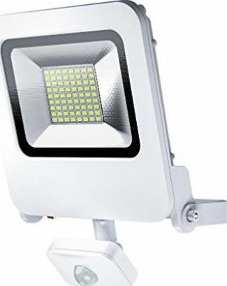 LED-Fluter OSRAM ENDURA FLOOD 30 W SENSOR Kippbar 22,6 cm Bewegungsmelder Weiß
