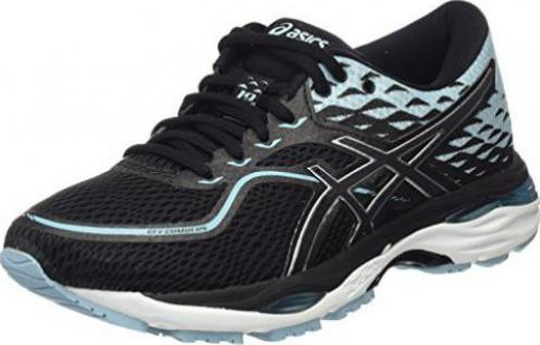 Asics Gel-Cumulus 19 black/porcelain/blue/white (Damen)