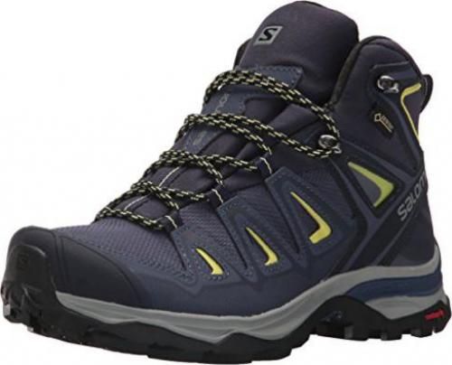 Salomon X Ultra 3 Mid GTX crown blueeveninglime (Damen hRyQ3