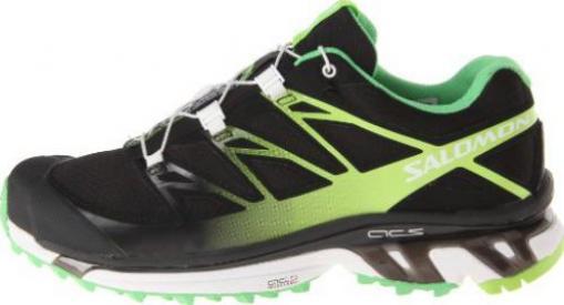 low priced 0089f 4a7d2 Salomon XT Wings 3 black/wasabi/firefly green (Damen)