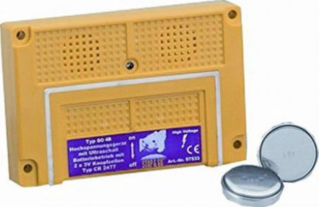 Stop/&Go Batterie Marderabwehrgerät 07533 Ultraschall 4B Marderschutz 2xPiezo