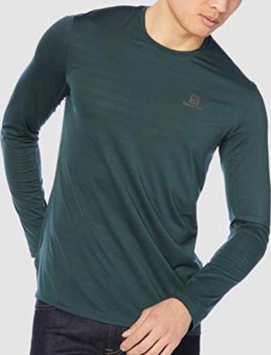 Salomon XA LS Tee Shirt langarm green gables (Herren)