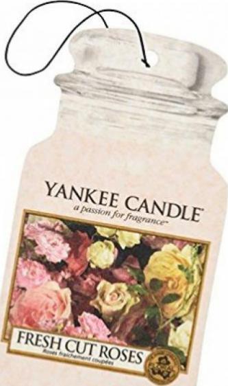 Yankee Candle 5038580088090 Car Jar Ultimate Fresh Cut Roses
