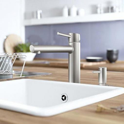 Grohe Concetto mittelhoher Auslauf Mousseur supersteel