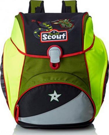 911b5cf16d8aa Scout Alpha Ninja Snake Schultaschen-Set 4-tlg. - Preisvergleich ...