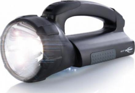 Handlampe als Werkstattlampe Taschenlampe Netzteil mit Wechselstecker /& Kfz-Kabel ANSMANN Arbeitsleuchte ASN 15HD Plus inkl integriertem NiMH Akku Halogen /& LED Lichtquelle 550 Lumen /& 30.000 Lux