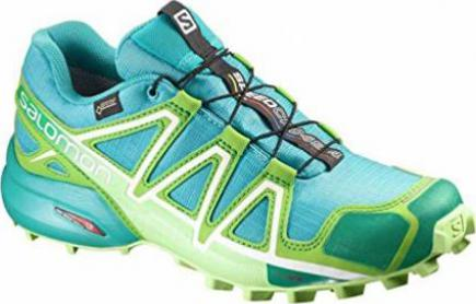 Salomon Speedcross 4 GTX teal bluepeppermintfresh green (Damen)