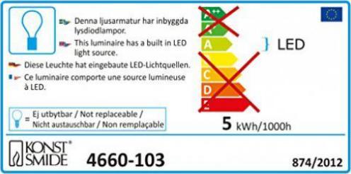 Konstsmide WB 4460-103 LED Schneeflocke NEU /& OVP