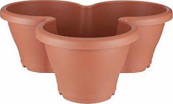 Elho Corsica Vertical Garden Blumentopf M Tonrot Preisvergleich Test Vergleich