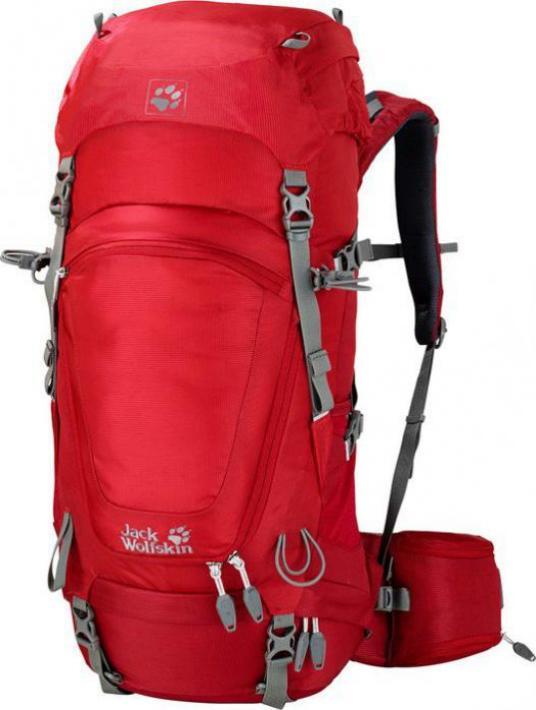 Jack Wolfskin Highland Trail 36 red fire