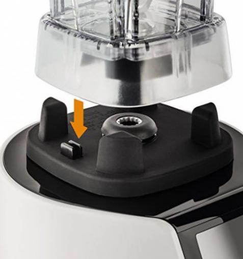 Krups KB 7030 High Speed Perfect Mix 9000-1500 Watt Hochleistungs Standmixer