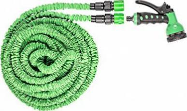Testurteil GU tillvex flexiSchlauch flexibler Gartenschlauch 22.5m ausgedehnt