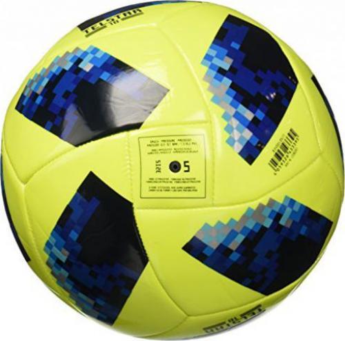 Adidas Fussball Telstar 18 Fifa Wm 2018 Glider Ball Solar Yellow Solar Blue Blue Royal