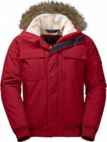 Jack Wolfskin Brockton Point Jacke indian red (Herren)